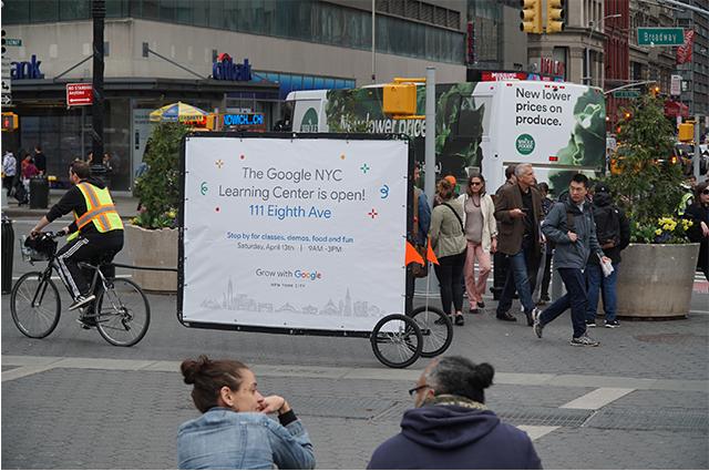 Billboard Bicycle Advertising